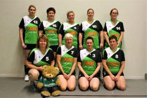 Volleybalvereniging Thriantha, Teamfoto Dames Recreanten seizoen 2017-2018