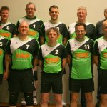 Teamfoto volleybalvereniging Heren 2 seizoen 2017 - 2018