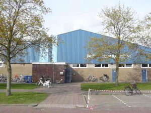 Speellocatie volleybalvereniging Thriantha sporthal de Kampen