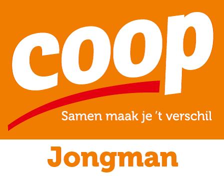 vv Thriantha, sponsor logo Coop Jongman Schoonebeek