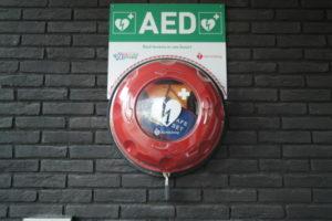 vv Thriantha, dichtstbijzijnde AED