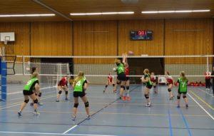 VV Thriantha, foto wedstrijd Dames1 - Dalen D2, 24-03-2018