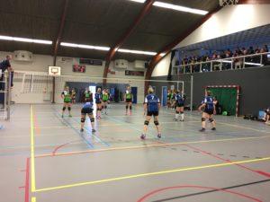 vv Thriantha, foto wedstrijd Dames 1 - De Schutters D1, 07-04-2018