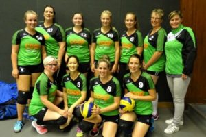 vv Thriantha - teamfoto Dames 4 - seizoen 2018-2019