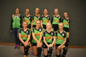 vv Thriantha - teamfoto meisjes C1 - seizoen 2018-2019