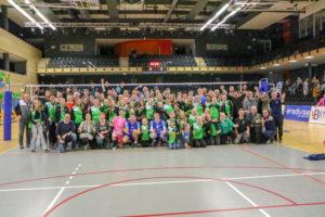 vv Thriantha- 22-12-2018 groepsfoto wedstrijd Zwolle-Lycurgus