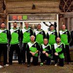 2017 - Teamfoto met sponsor Ruud Pat van Pat Makelaardij te Schoonebeek
