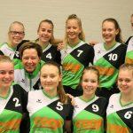 Volleybalvereniging Thriantha meisjes B 2 seizoen 2017 - 2018