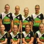 Volleybalvereniging Thriantha Teamfoto Meisjes C2 seizoen 2017 - 2018