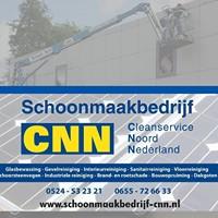 vv Thriantha, sponsor logo Schoonmaakbedrijf CNN te Schoonebeek