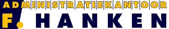 vv Thriantha, kleding en advertentie sponsor, logo administratiekantoor F. Hanken te Schoonebeek