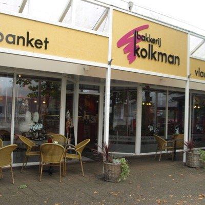 vv Thriantha, advertentie sponsor, logo bakkerij Kolkman te Schoonebeek