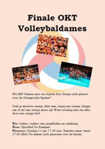 vv Thriantha, flyer voor OKT Volleybaldames 2020